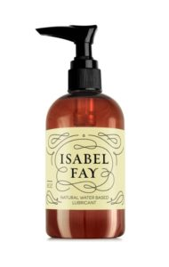 Isabel Fay Natural Intimate Personal Lubricant for Sensitive Skin